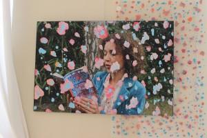 Photo-peinture, 2014, 80 x 120 cm