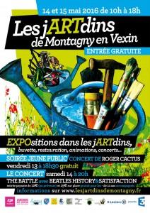 Les jARTdins de Montagny 2016 affiche
