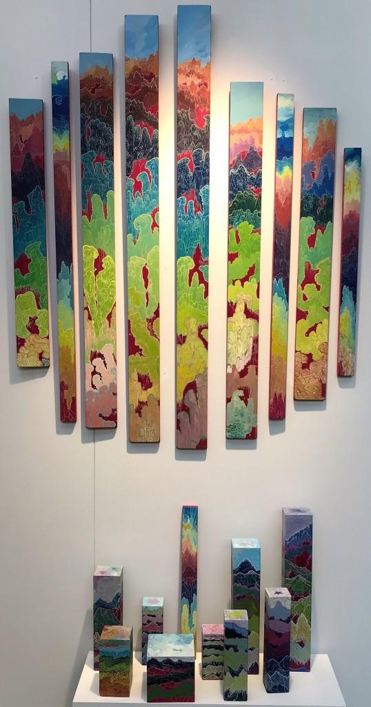 Foire AAF de Hong Kong, Galerie Barrou Planquart, 2018